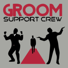 Bachelor Party grooms-crew T-Shirt