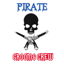 Bachelor Party GROOMS-CREW-PIRATES T-Shirt