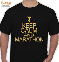 Mumbai Marathon MUMBAIMARATHON-BLACK T-Shirt