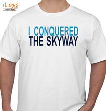 Mumbai Marathon I-CONQUERED-THE-SKYWAY T-Shirt