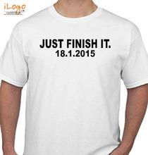 Mumbai Marathon JUST-FINISH-IT- T-Shirt