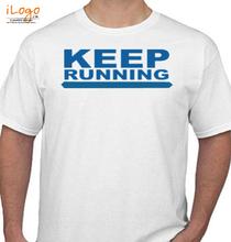 Mumbai Marathon KEEP-RUNING T-Shirt