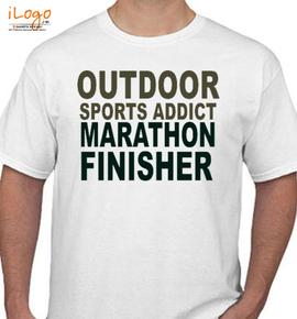 OUTDOOR MARATHON FINISHER - T-Shirt