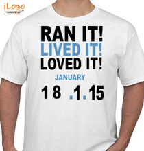 Mumbai Marathon RUN-IT T-Shirt