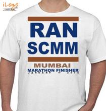 Mumbai Marathon MUMBAI-MARATHON T-Shirt