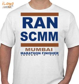 MUMBAI MARATHON - T-Shirt