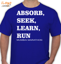 Mumbai Marathon ABSORB-RUN T-Shirt