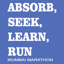 Mumbai Marathon ABSORB-RUN T-Shirt