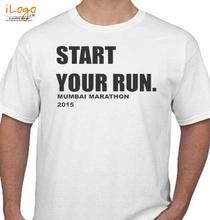 Mumbai Marathon START-YOUR-RUN T-Shirt