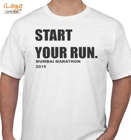 START-YOUR-RUN - T-Shirt