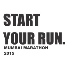 Mumbai Marathon START-YOUR-RUN T-Shirt