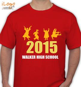 WALKER-HIGH-SCHOOL - T-Shirt