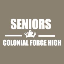 Class SENIORS-COLONIAL-FORGE-HIGH T-Shirt