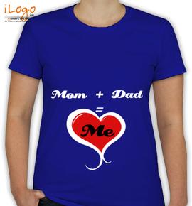 Mom-Dad-Tshirt - T-Shirt [F]