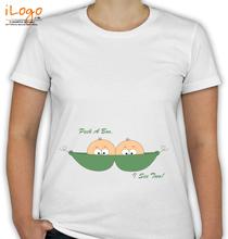 Peek-a-boo-Two T-Shirt