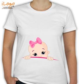 Baby Girl Coming - T-Shirt [F]