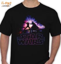 darth-vader-%-luke-skywalker-fight T-Shirt