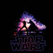 darth-vader-%-luke-skywalker-fight T-Shirt
