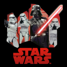 darth-vader-%-troops T-Shirt