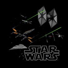 Star Wars ALL ship T-Shirt