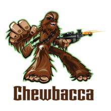 Star Wars ALL chewbacca-clip-art T-Shirt