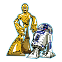 Star Wars ALL rd-and-c-po T-Shirt