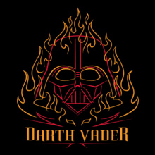 burning-dark-darth-vader T-Shirt