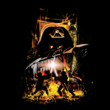 Star Wars I darth-vader-lava T-Shirt