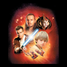 Star Wars I qui-gon-jinn-and-Padm%E-Amidala T-Shirt