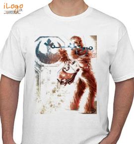 Chewbacca starwar - T-Shirt