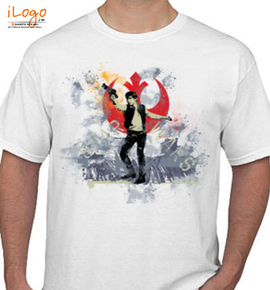 han solo starwars - T-Shirt