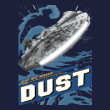 Starwars Ships dust T-Shirt