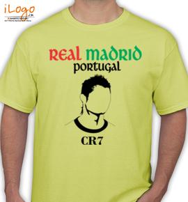 Real-Madrid-Portugal-CR - T-Shirt
