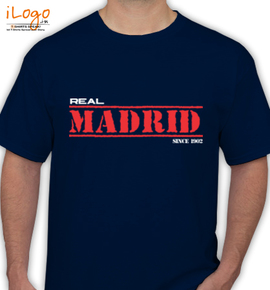 Real-Madrid-Since- - T-Shirt