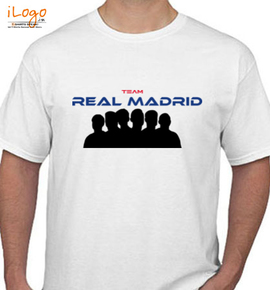Team-Real-Madrid - T-Shirt
