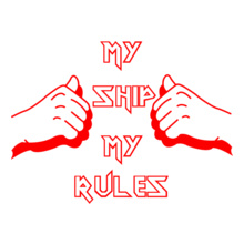 My-Ship-My-Rules T-Shirt