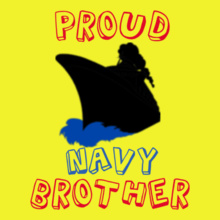 Proud-navy-brother T-Shirt
