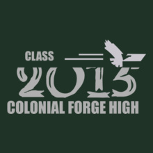Class CLASS--COLONIAL-FORGE-HIGH T-Shirt