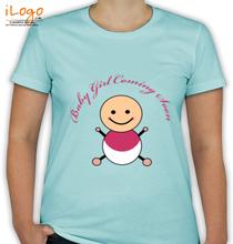 Baby-Girl-Coming-Soon T-Shirt