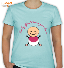 Baby Girl Coming Soon - T-Shirt [F]