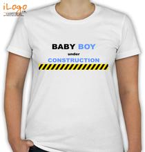 Baby-Boy-Under-Construction T-Shirt