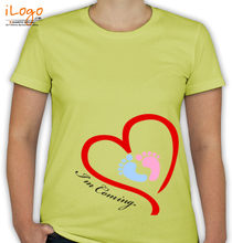 Baby-Foot-Print T-Shirt