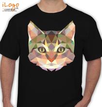 CAT Cat-face T-Shirt