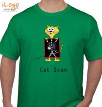 CAT Cat-scan T-Shirt