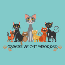 Obsessive-Cat-Disorder T-Shirt