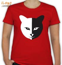 CAT Cat-face- T-Shirt