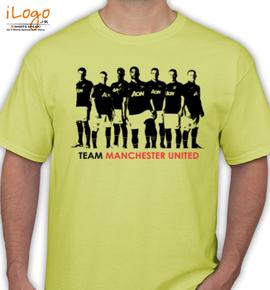 Team-Manchester-United - T-Shirt