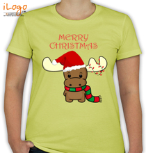 Christmas Baby-Reindeer T-Shirt