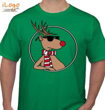 Christmas Cool-Reindeer T-Shirt