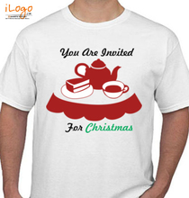 Christmas Invited-for-christmas T-Shirt